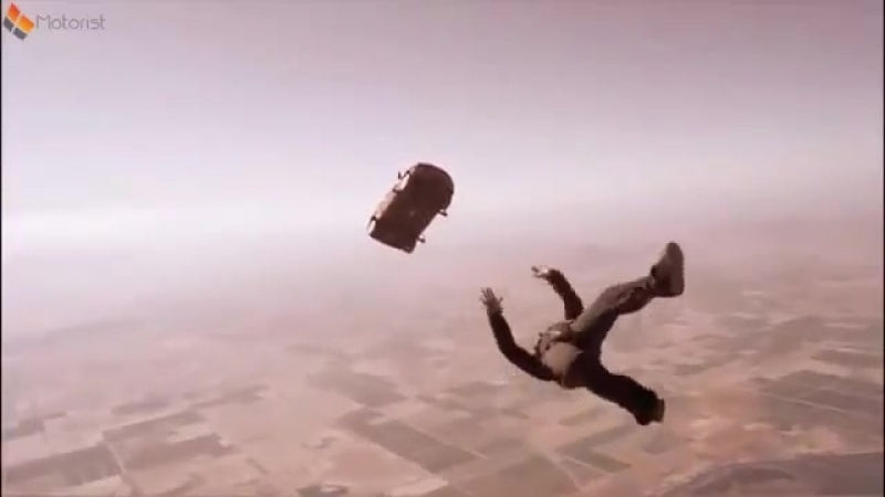 Chevy Sonic Skydiving Stunt Advert