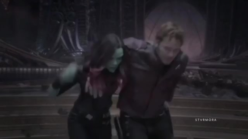 Star lord and gamora vine marvel