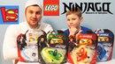 LEGO NINJAGO распаковка конкурс кто победит ЛЕГО НИНДЗЯГО VS BEYBLADE BURST видео для детей ИГРУШКИ