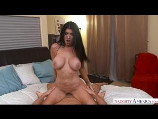 Romi Rain (MILF, Big Tits, Tattoo, Shower, Blowjob, Latina)