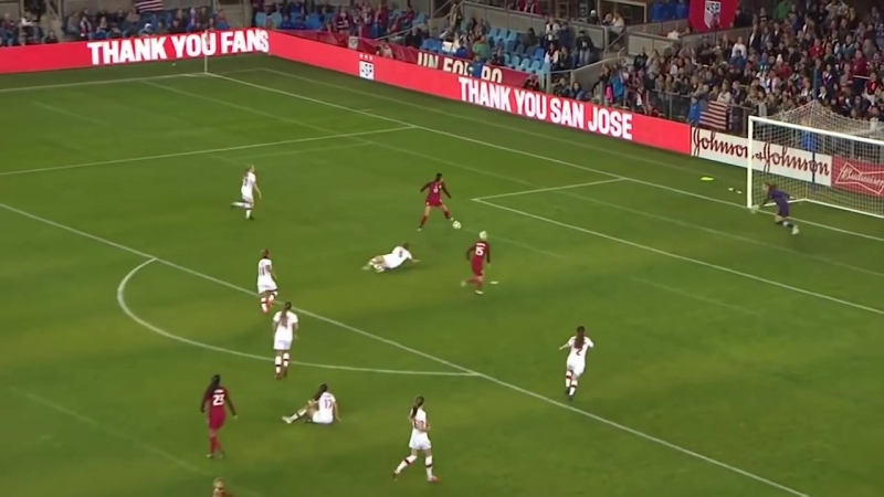 WNT vs. Canada_ Alex Morgan Goal - Nov. 12, 2017