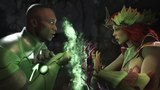 Injustice 2 : John Stewart Vs Poison Ivy - All Intro/Outros, Clash Dialogues, Super Moves