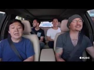 Linkin Park Talking To My Self Carpool karaoke