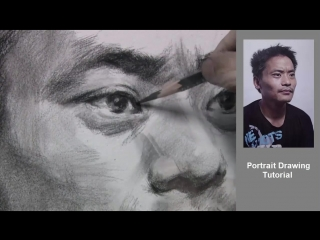 Портрет поэтапно