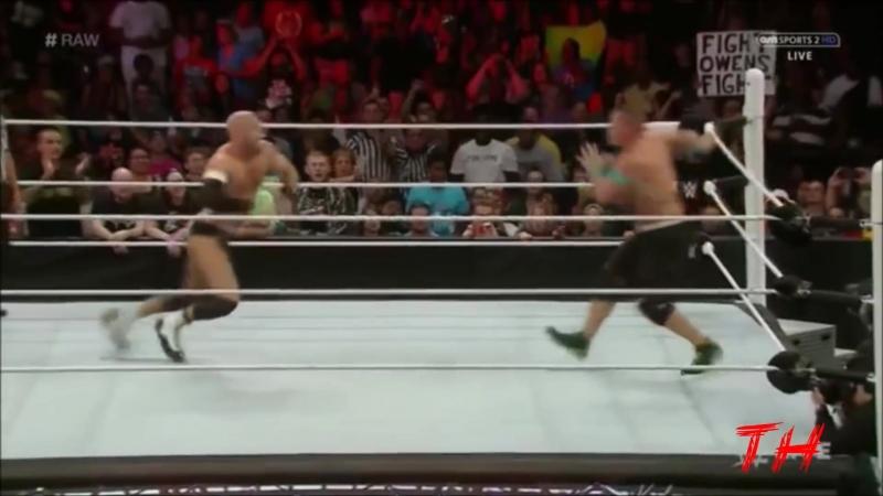 John Cena vs Cesaro Highlights HD Raw 29 06 2015