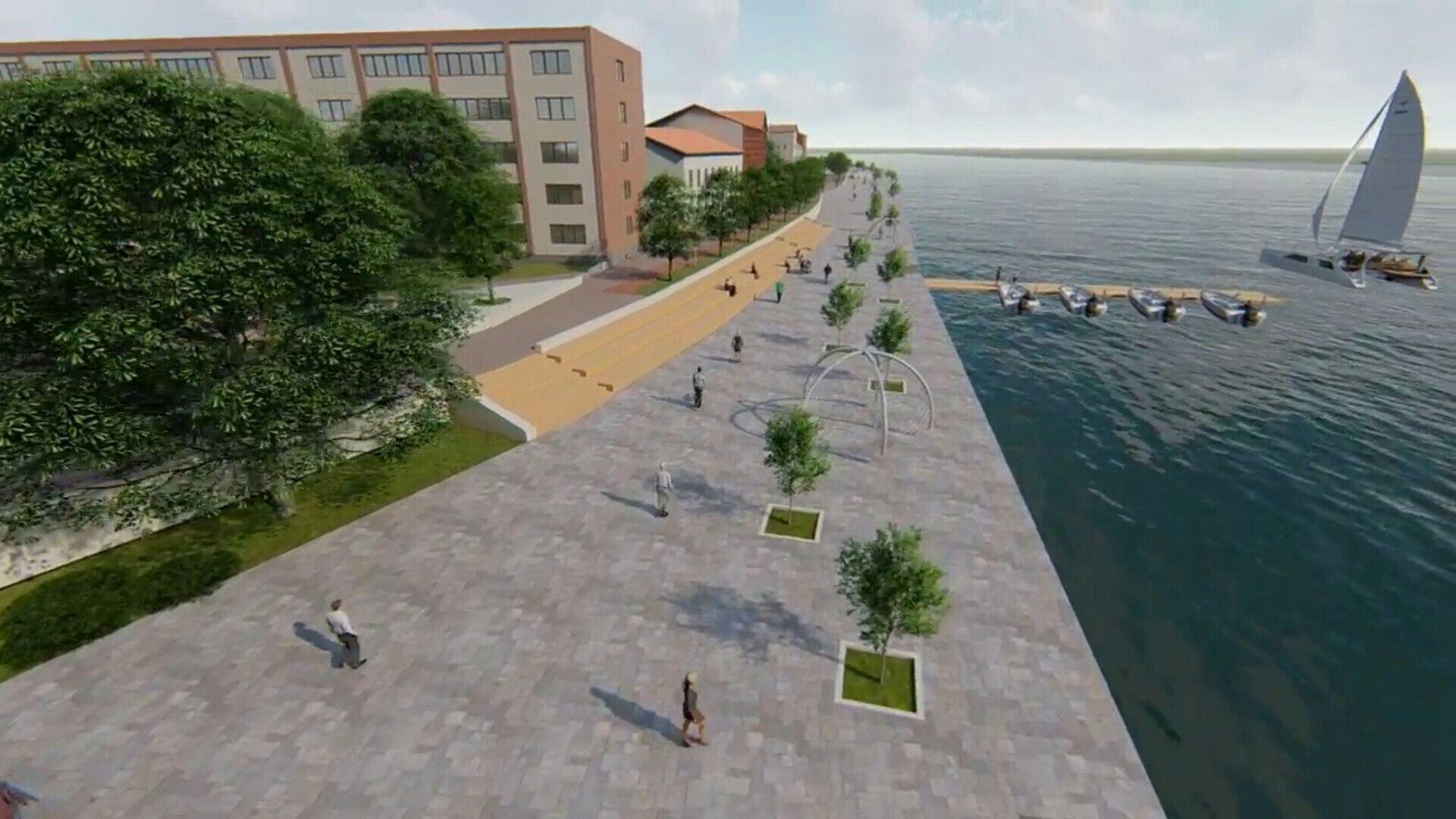 Советск получит  деньги на реконструкцию набережной: федералы поддержали проект на 143 млн. руб