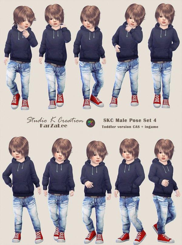 Pose Set 4 toddler version by Studio K Creation