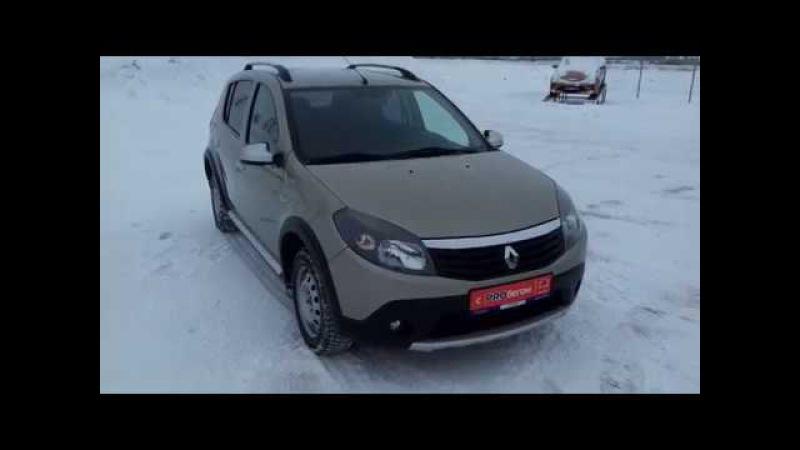 Купить Рено Сандеро Степвей (Renault Sandero Stepway) 2012 г. с пробегом бу в Балаково Элвис