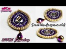 How to make Saree pin / Brooch | Made out of paper | DIY | Swapna's Creation 17
