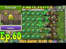 Plants vs. Zombies 2 || Kernel-pult Costume || Pinata Party 4/3/2018 (Ep.60)