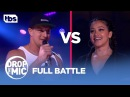 Drop the Mic Rob Gronkowski vs Gina Rodriguez FULL BATTLE TBS