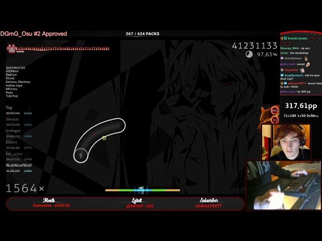 WubWoofWolf | Nico Nico Douga - Kumikyoku [Epic Marathon!] HD,HRxDT 97.98% FC 390pp 1