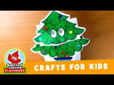 Christmas Tree Puppet Craft for Kids | Maple Leaf Learning Playhouse