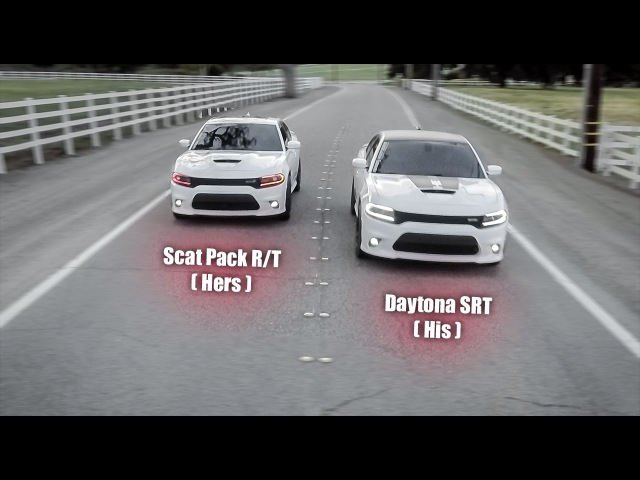 Dodge Charger Daytona Scat Pack - His Hers Car Shoot - Wheels / Exhaust / Colorshift DRLs
