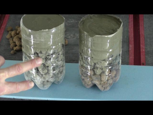 Как сделать легкую стяжку на основе керамзита Крепления для маяков!