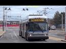 Silverline Trolleybus or Bus in Boston USA 2018