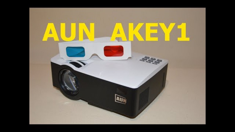AUN AKEY1 Проектор Projector