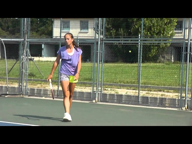 EMPIRE Tennis Academy Darya Kasatkina's hard work before the hard court season in L4T