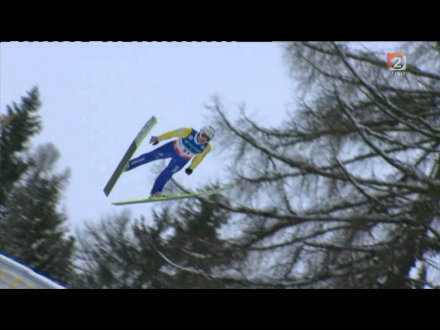 Ski Jump - Kulm Austria (15.1.2012 / 1st Game, One series) - Robert Kranjec won