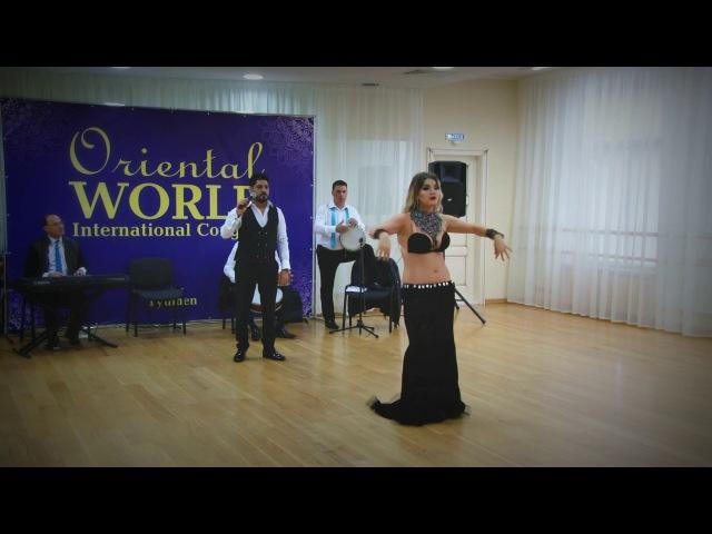 Natalia Pshenichnikova Lissa Fakir with Katia Eshta's band