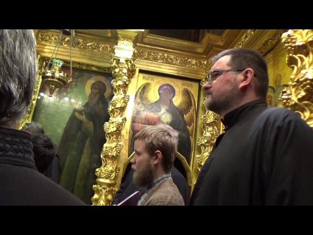 Молебен прп.Паисию Святогорцу - Служба в ТСЛ ч.14(а)