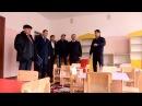 Сайрам ауданының әкімі жаңадан салынған бала бақшаны көріп қайтты