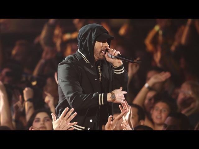 Eminem feat. Kehlani - Nowhere Fast [UltraHD] (iHeart Music Awards 2018) Em X DJ Khaled Interview