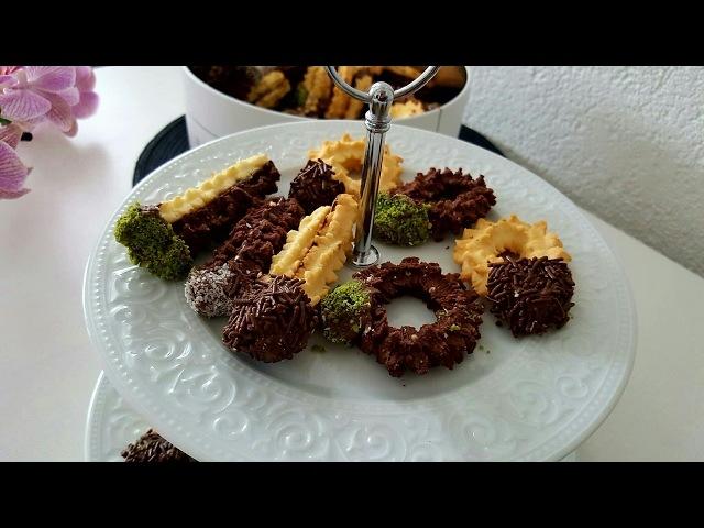 Tırtıl Kurabiye Tarifi Yapimi kolay ve cok lezzetli -Hatice Mazi