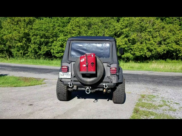1993 Jeep Wrangler YJ 4.0 Flowmaster 40 series exhaust