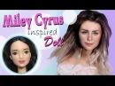 How To Miley Cyrus Inspired Custom Doll Tutorial / DIY Barbie Repaint