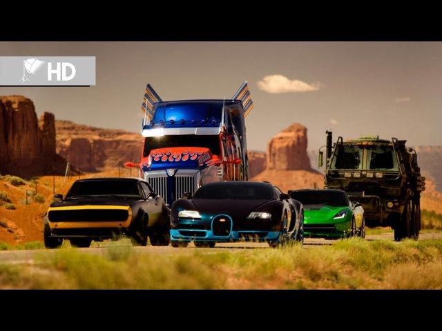 Transformers 4 Kayıp Çağ | Optimus Prime Yeni Dönüşümü | Klip (413) | HD