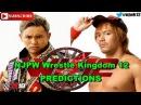NJPW Wrestle Kingdom 12 IWGP Heavyweight Championship Kazuchika Okada vs. Tetsuya Naito WWE 2K18