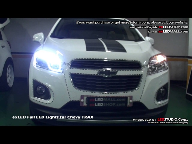 ExLED Full LED Lights for Chevy TRAX