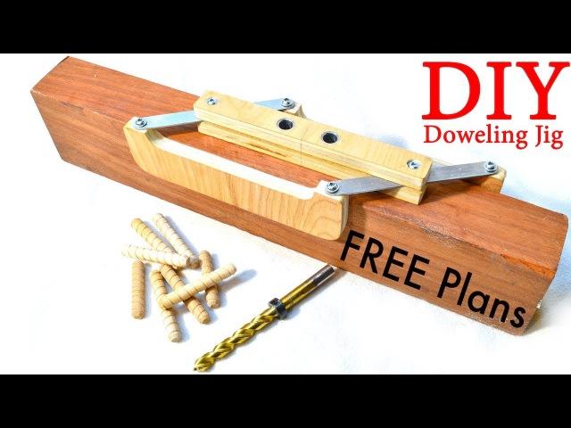 Self–Centering Doweling Jig / FREE PLANS