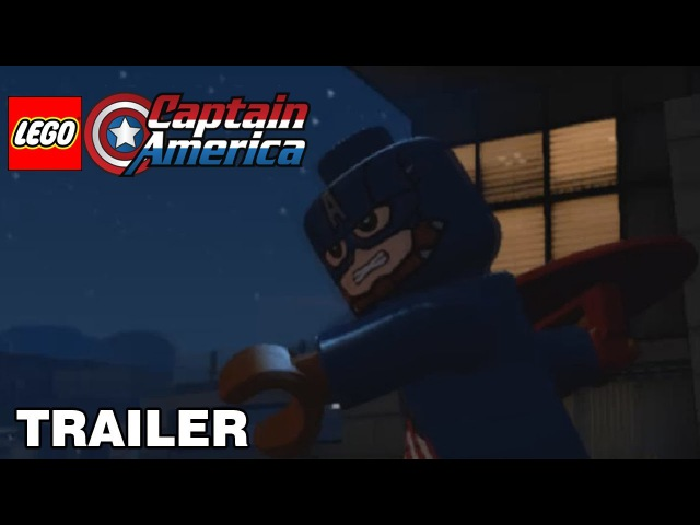 LEGO Captain America - trailer1/ЛЕГО Капитан Америка - трейлер 1