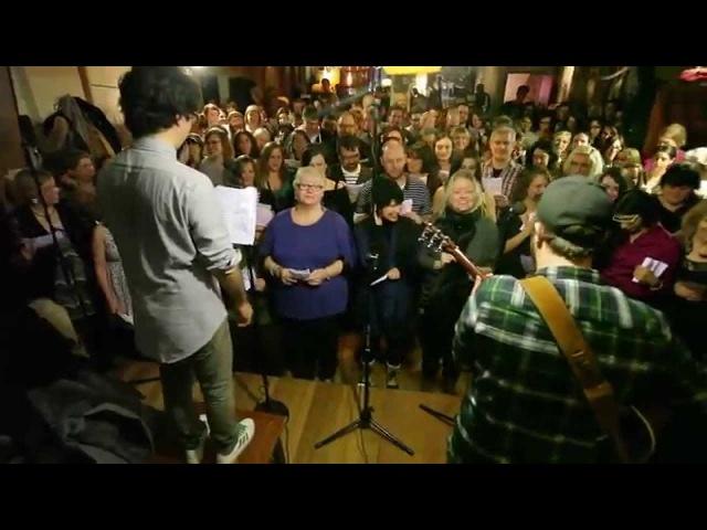 Choir Choir Choir sings Spoon I Turn My Camera On