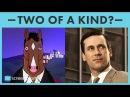 BoJack = Don Draper BoJack Horseman and Mad Men Matchup