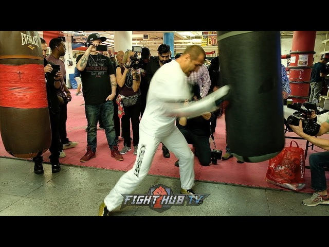 SERGEY KOVALEV UNLEASHES ON THE HEAVY BAG! THROWS 30 PUNCH COMBOS!