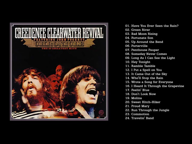 Creedence Clearwater Revival Greatest Hits Full Album Collection The Best of CCR HD HQ