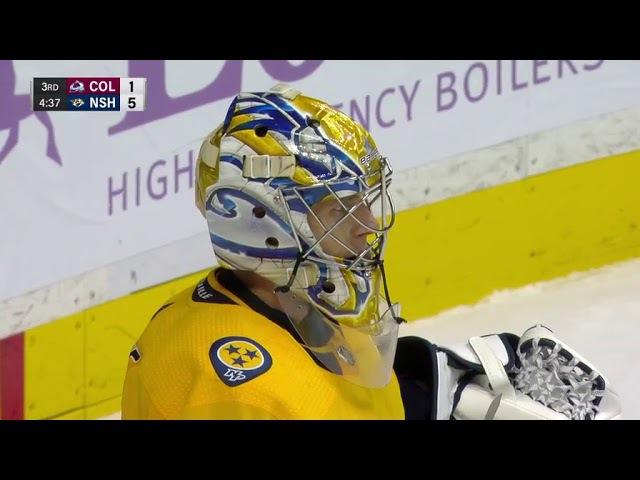 Первый гол Андрея Миронова в НХЛ