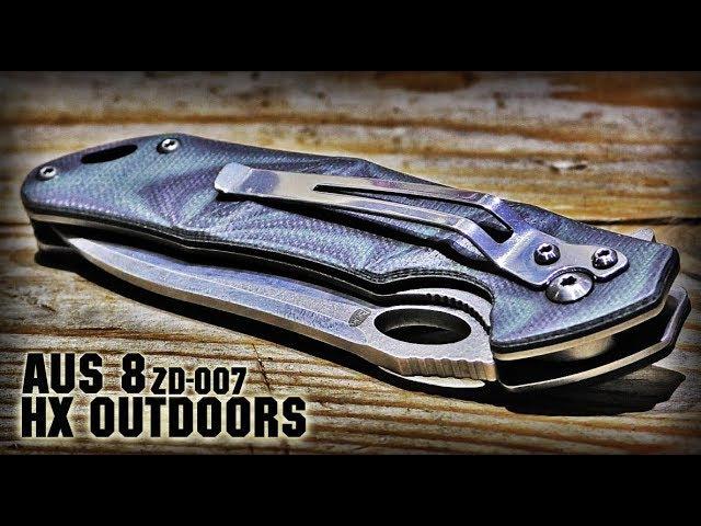 EDC Нож из Китая HX OUTDOORS ZD007 Реальный Убийца Крысы