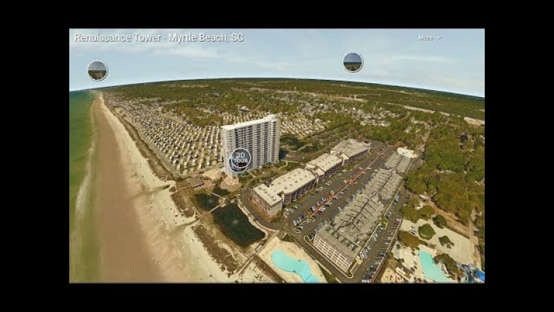 Myrtle Beach Resort Renaissance Tower Ocean Beach View Rental