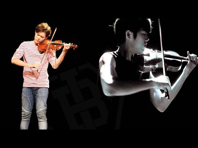 Compilation of B.I.G's Benji violin performance of K-pop songs (Twice, Big Bang, EXO and more)