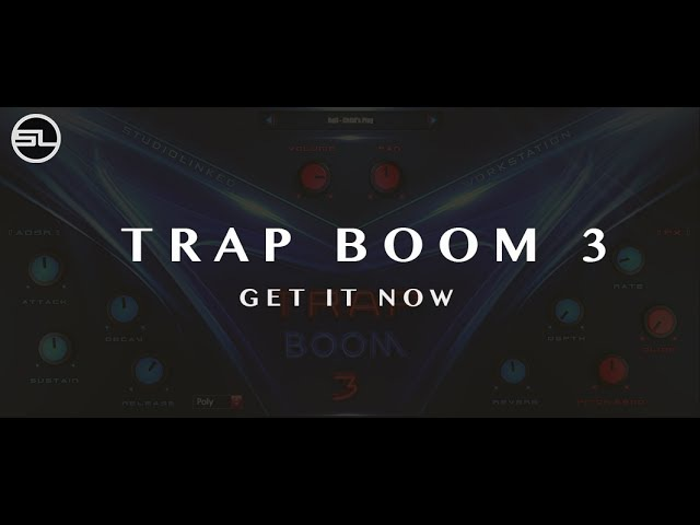 TRAP BOOM 3 - (VST,AU) Inspired by Metro Boomin, Mike Will Made It