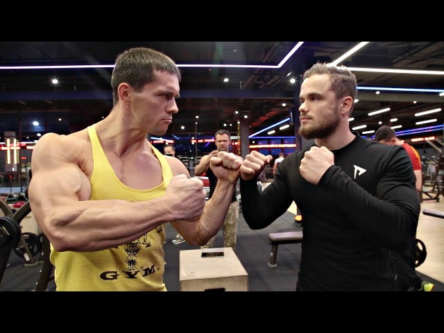 Турникмен против Химика Жим 100 кг на 100 раз