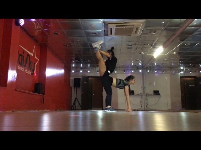 DANCEHALL ROUTINE TRICKS by DAHA ICE CREAM KAMILLA RISLING