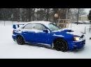Subaru Snow Drifting!