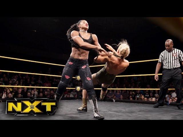 Lacey Evans vs. Bianca Belair: NXT, Sept. 20, 2017