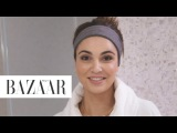 Negin Mirsalehi's Nighttime Routine Go To Bed With Me Harpers BAZAAR