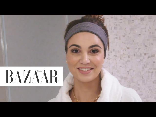 Negin Mirsalehi's Nighttime Routine | Go To Bed With Me | Harper's BAZAAR